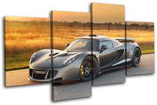 Hennessey Venom GT Cars MULTI DOEK WALL ART foto afdrukken