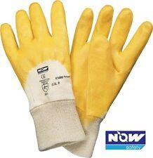12 Paar NOW Safety Nappalederhandschuhe Größe 8-11  EN 388,Kat II Donau