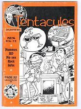 """FANZINE """"TENTACULES LE JOURNAL QUI... - N° 14"""" (1994) BD"""