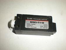 Smc Nise1-T1-15 145Psi Pressure Switch 24 Vdc New