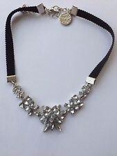 Fashion bohemian style flower design weaving friendship choker necklace
