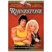 RHINESTONE rare Musical Comedy dvd DOLLY PARTON Sylvester Stallone 1980s Ln