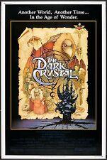 The Dark Crystal Movie POSTER (1982) Fantasy/Adventure