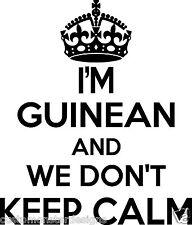 Guinean Wall Sticker... 20 inches Tall We Don't Keep Calm Vinyl Wall Art