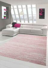 Tapis de salon design et contemporain Tapis court Uni Rose