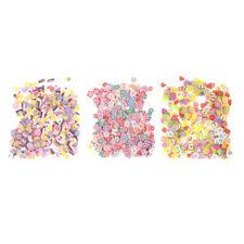 500pcs random mix colors shape for mobile phone decor scrapbooking diy craftsXP