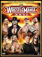 WWE - Wrestlemania XXI (DVD, 2010, 3-Disc Set, Collectors Edition)