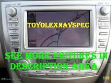 TOYOTA CAMRY GPS DVD NAV NAVIGATION RADIO BLUETOOTH MP3  2010 2011