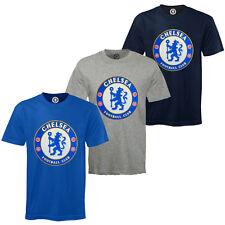 Chelsea FC Official Football Gift Kids Crest T-Shirt