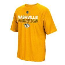 Nashville Predators NHL Adidas Men's Authentic Ice 2017 Gold T-Shirt