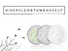 Vestido de lujo Disfraz De Halloween Miedo Fiesta de polvo mineral maquillaje de escenario de cara cuerpo