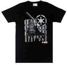 Lego STAR WARS DARTH VADER GALAXY'S BEST DAD T-Shirt NWT Licensed & Official