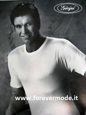 3 T-shirt uomo Gicipi manica corta girocollo in cotone pettinato art Georges MMU