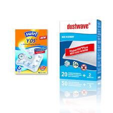 Original Swirl Y05 oder dustwave D54 Staubsaugerbeutel für LG, Melissa u.v.a.