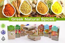 Natural Greek Seasonings Spices and Herbs mixes 100% Tzatziki, Greek Salad, etc.
