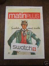 PRATT / MATIN PLUS / OCTOBRE 2007 / PUB PRATT SWATCH