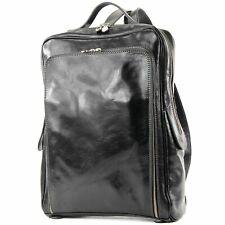 modamoda de - ital. Businessrucksack DIA A4 Laptop Herren Rucksack Leder A013