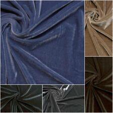 Tessuto velluto elastico velvet abbigliamento prezzo di vendita riferito a 50 cm