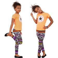 legging thermique pantalon Filles Hiver enfants Leggings multicolore 92-152