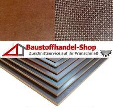 125 x 60 cm Siebdruckplatten 27mm 59,90/€m/² Siebdruckplatte Siebdruck Sperrholz Birke Anh/änger NEU