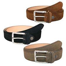 Buckles & Belts Wildleder Gürtel Ledergürtel