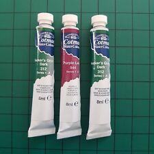 Winsor & Newton Cotman Water Colour 8ml Tubes  cheap stock clear