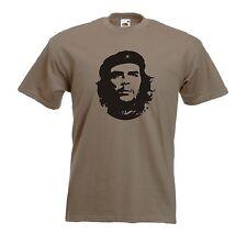 Che Guevara rivoluzionario SOCIALISTA JERSEY Khaki T-Shirt-Tutte le taglie disponibili