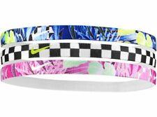New 3 Pack Nike Headband Sports Gym Band Unisex Women Men Hairband Elasticate
