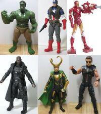 THE AVENGERS HULK CAPTAIN AMERICA NICK FURY LOKI Thor Action figure