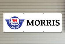 Morris Motors Banner – PVC logo banner for your workshop garage or man cave