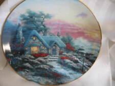 Thomas Kinkade Collectible Plate Seaside Cottage #3 New