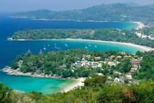 PHUKET THAILAND SKYLINE GLOSSY POSTER PICTURE PHOTO PRINT island beach view 3731