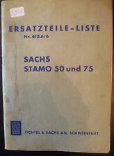 Sachs-Stamo Motoren 50 + 75 Ersatzteilliste