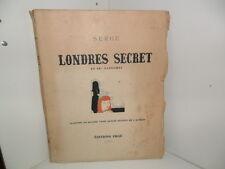 Serge: Londres secret et ses fantômes, illustrations - Editions Ergé, 1946.