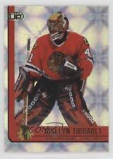 2001-02 Pacific Heads Up #20 Jocelyn Thibault Chicago Blackhawks Hockey Card