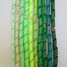 5 Pieces ~~10mm KORKER Grosgrain Ribbon 10 Colours U PICK -- Green