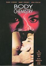 Body Chemistry (DVD, 2001) Lisa Pescia  EROTIC THRILLER  BRAND NEW