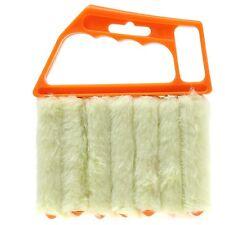 Venetian Blinds Duster Vertical Blind Cleaner Dust Cleaning Prongs Brush KV