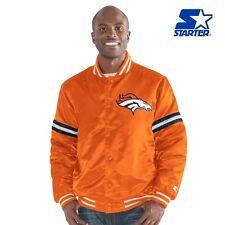 """Denver Broncos NFL Men's Starter """"LEGACY"""" Vintage Satin Varsity Jacket"""