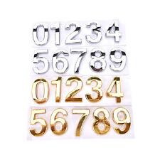 House Hotel Door Address Plaque Number Digits Sticker Plate Sign House SK