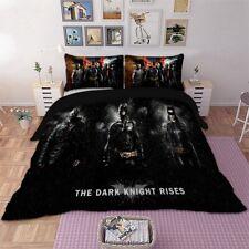 Batman Knight of Darkness Bedding Set Queen King Full Size Bed Set 3pcs duvet
