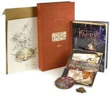 GAIMAN FROUD WORLD OF FAERIE ~ BK POSTER DVD ~ LTD ED of 1500 SIGNED & NUMBERED