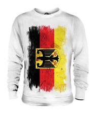 Germania State Bandiera Del Grunge Unisex Maglione Deutschland Calcio