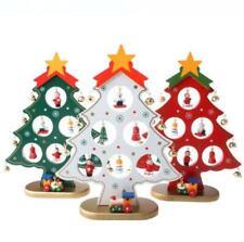DIY Christmas Ornament Wooden Christmas Tree Christmas Hanging Ornament Gift for