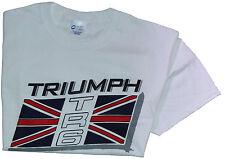 Triumph TR6 flag T-Shirt 100% cotton Med - XXL