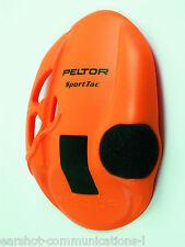 Peltor Sporttac Earshell in Orange 210100-478-OR New Per Pair Main Peltor Dealer