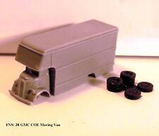 """N SCALE: 1 - 1938 GMC """"COE"""" Moving Van by FNS"""