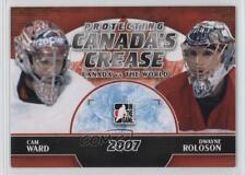 2011-12 In the Game Canada VS World #PCC-08 Cam Ward Dwayne Roloson Hockey Card