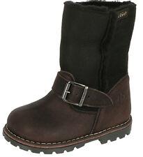 Clic! Kinder Boots Stiefel CX-6075 Leder Lammfell Lauflern Schuhe 20-26 Neu