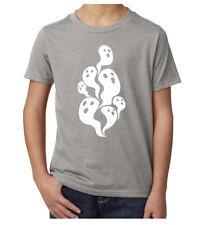 Ghosts Halloween Shirts, Kid's Graphic Tees, Funny Halloween Shirts Kids